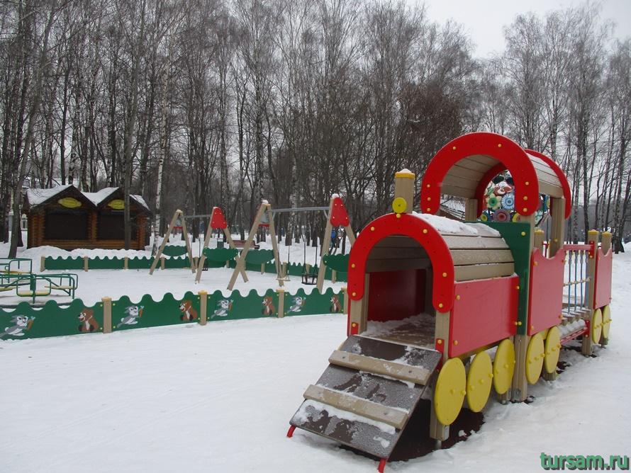 Парк Белоусова в Туле-14