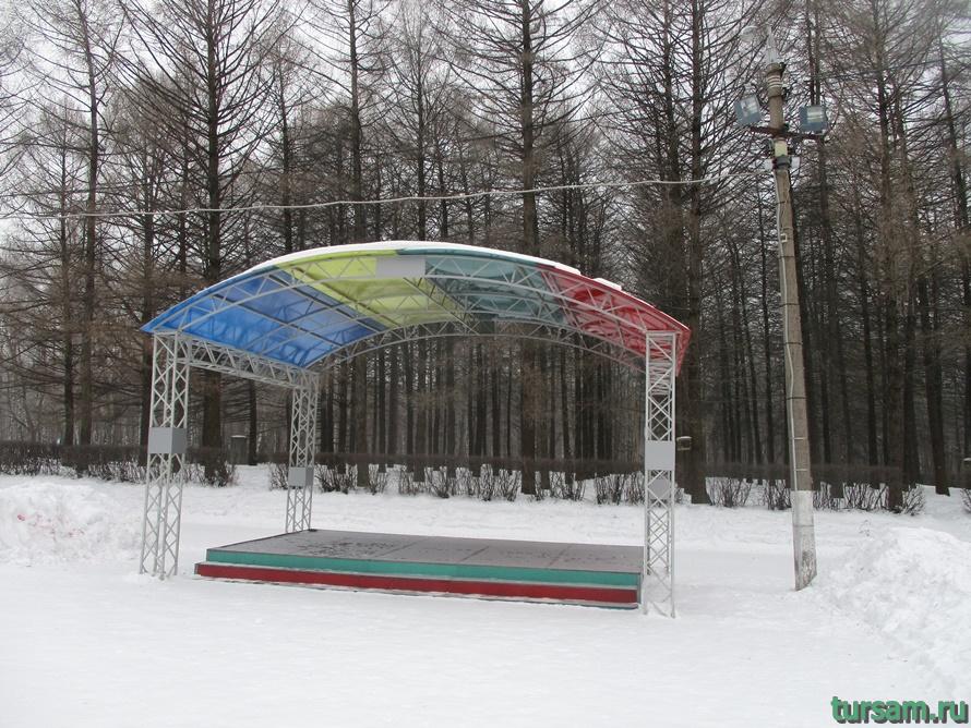 Парк Белоусова в Туле-15