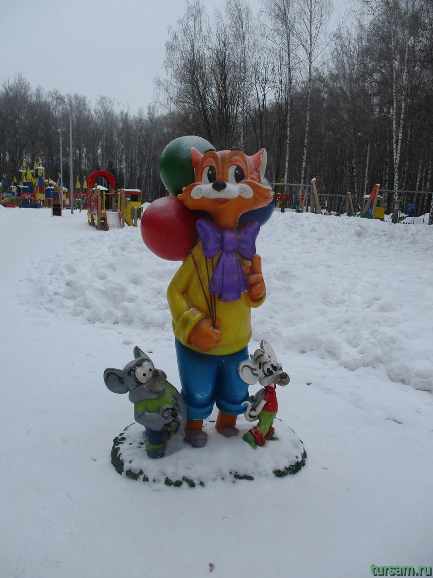 Парк Белоусова в Туле-17