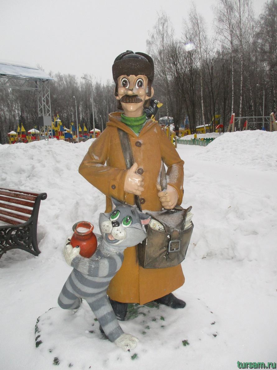 Парк Белоусова в Туле-18
