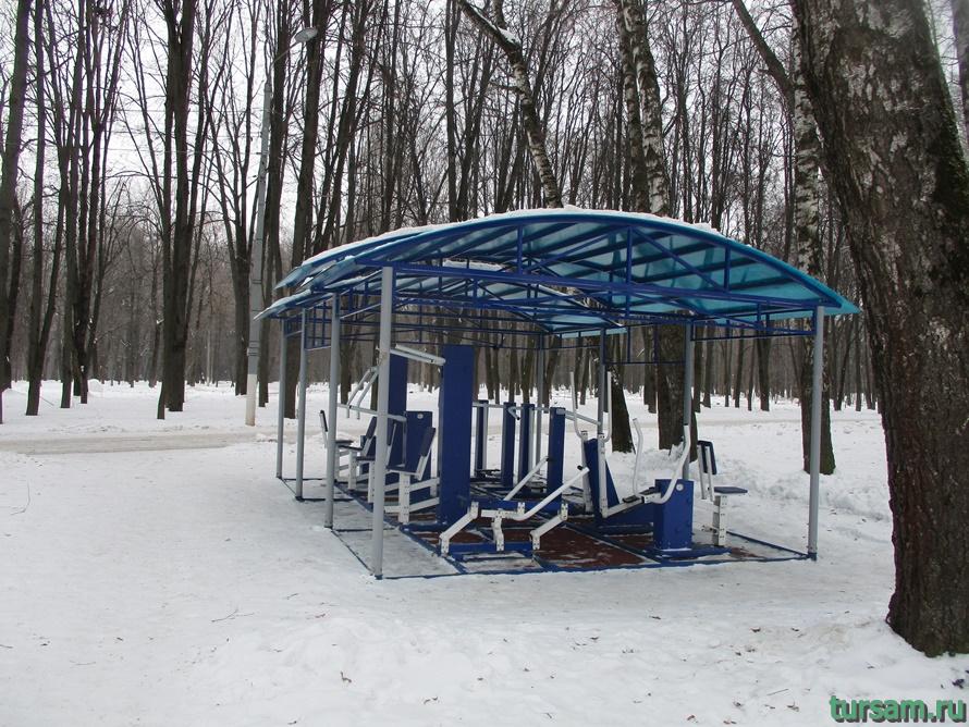 Парк Белоусова в Туле-2