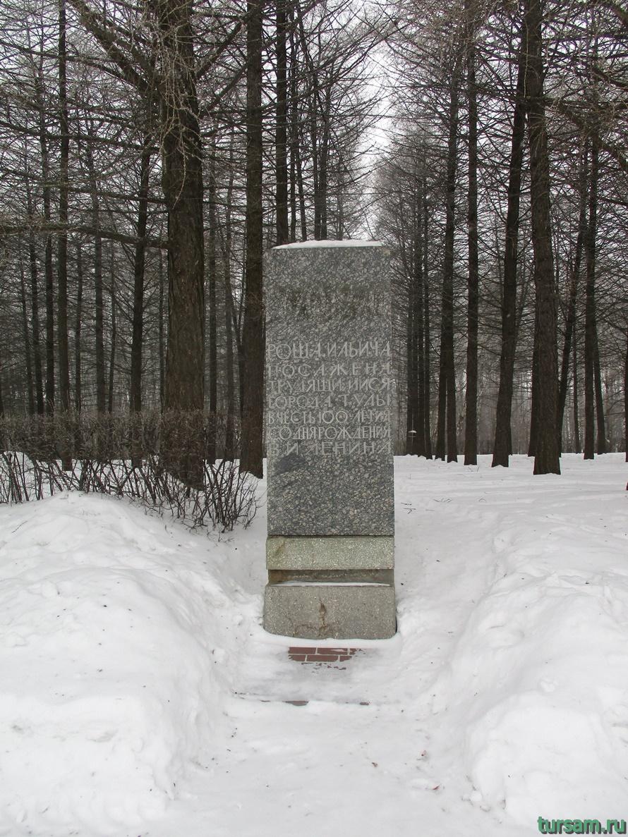 Парк Белоусова в Туле-23