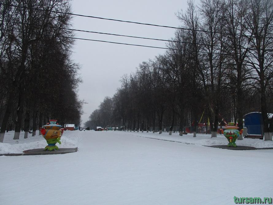 Парк Белоусова в Туле-26