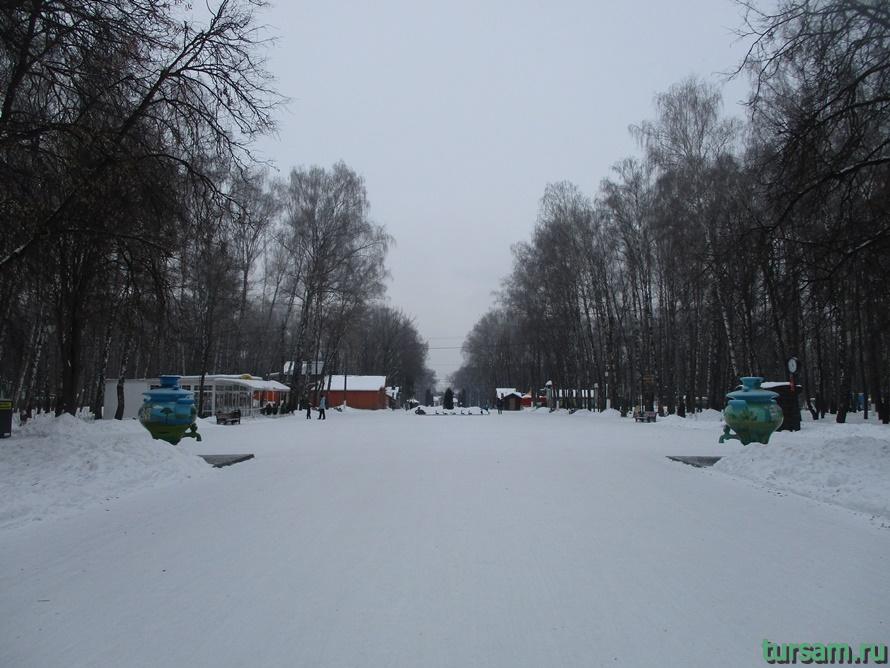 Парк Белоусова в Туле-27
