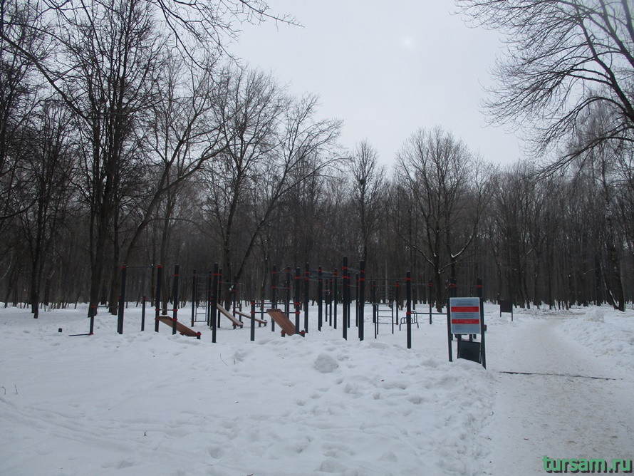 Парк Белоусова в Туле-3