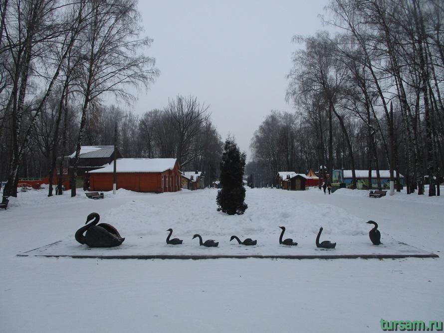 Парк Белоусова в Туле-30