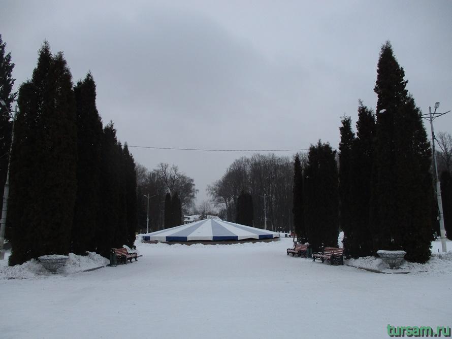 Парк Белоусова в Туле-46