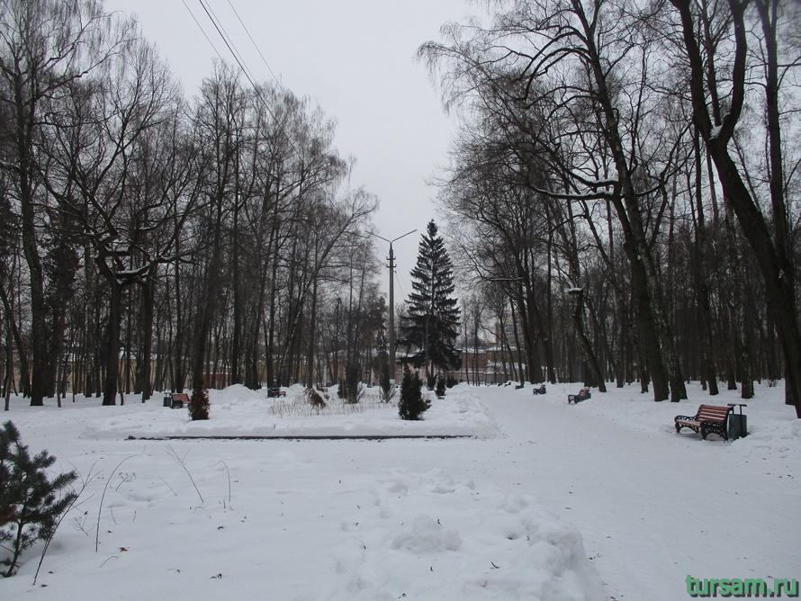 Парк Белоусова в Туле-56
