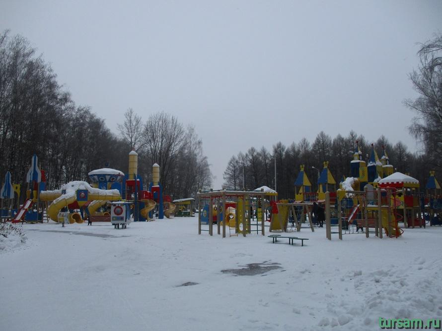 Парк Белоусова в Туле-9