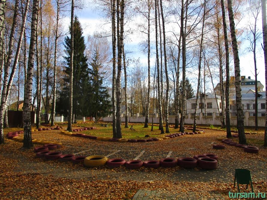 Парк Березовая роща в Дмитрове-15