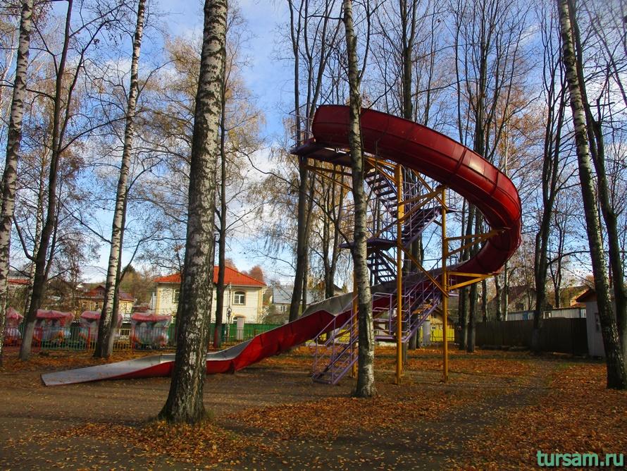 Парк Березовая роща в Дмитрове-16