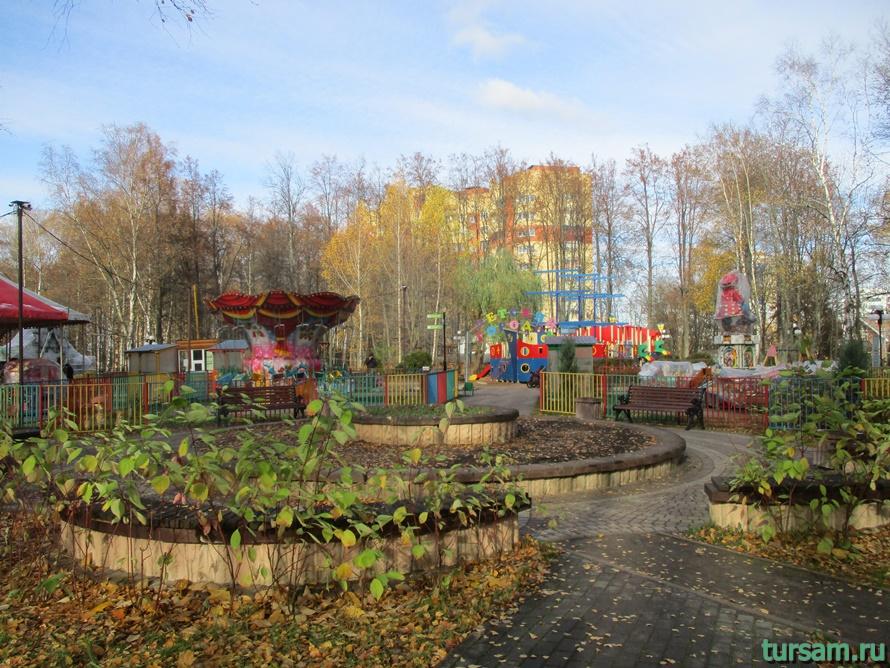 Парк Березовая роща в Дмитрове-17