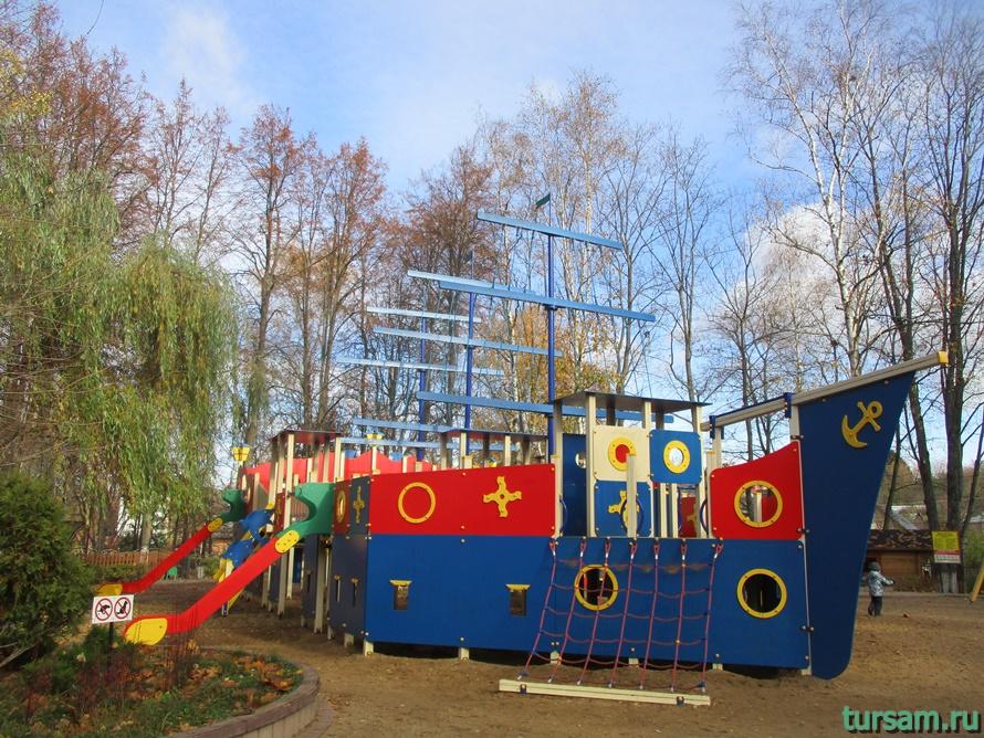 Парк Березовая роща в Дмитрове-22