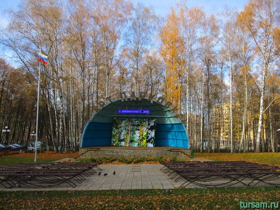 Парк Березовая роща в Дмитрове-25