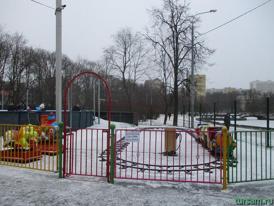 Парк Дубки в Москве-10