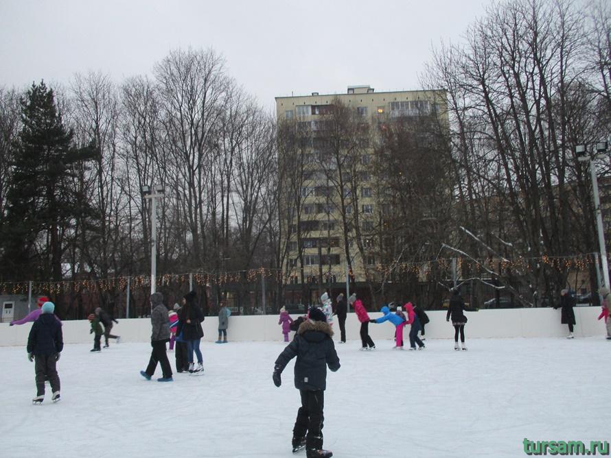 Парк Дубки в Москве-11