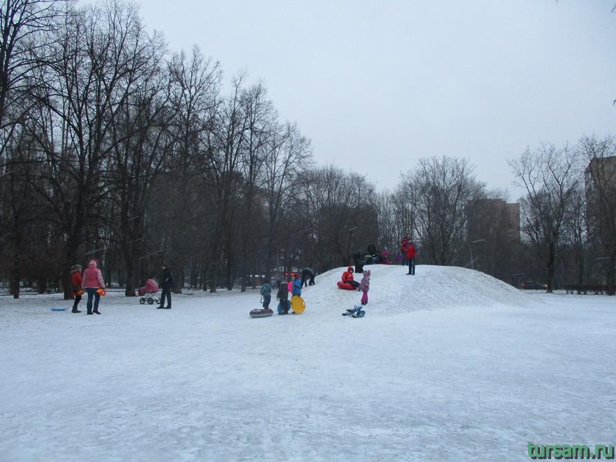 Парк Дубки в Москве-12