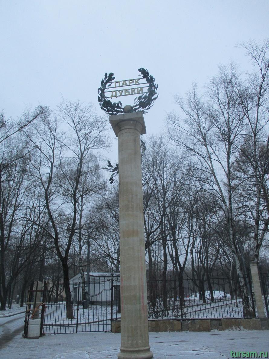 Парк Дубки в Москве-14