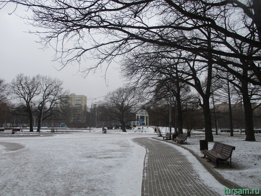 Парк Дубки в Москве-3