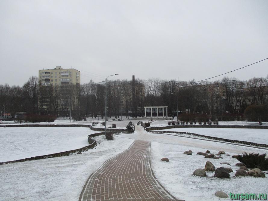 Парк Дубки в Москве-6