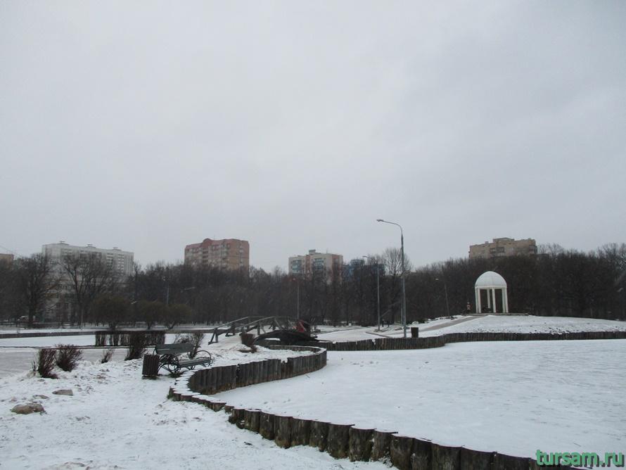 Парк Дубки в Москве-9