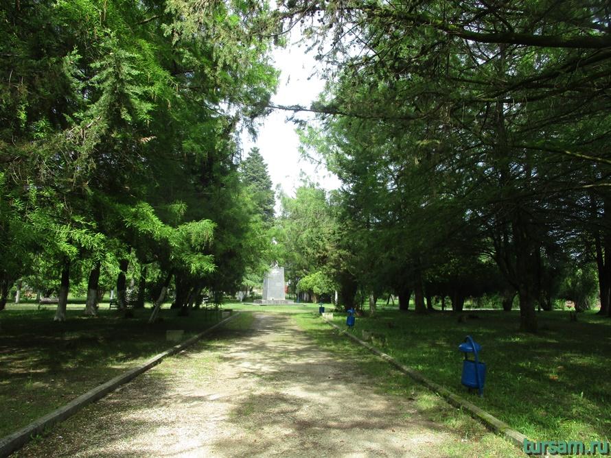 Парк Гуда и Ута в Абхазии-2