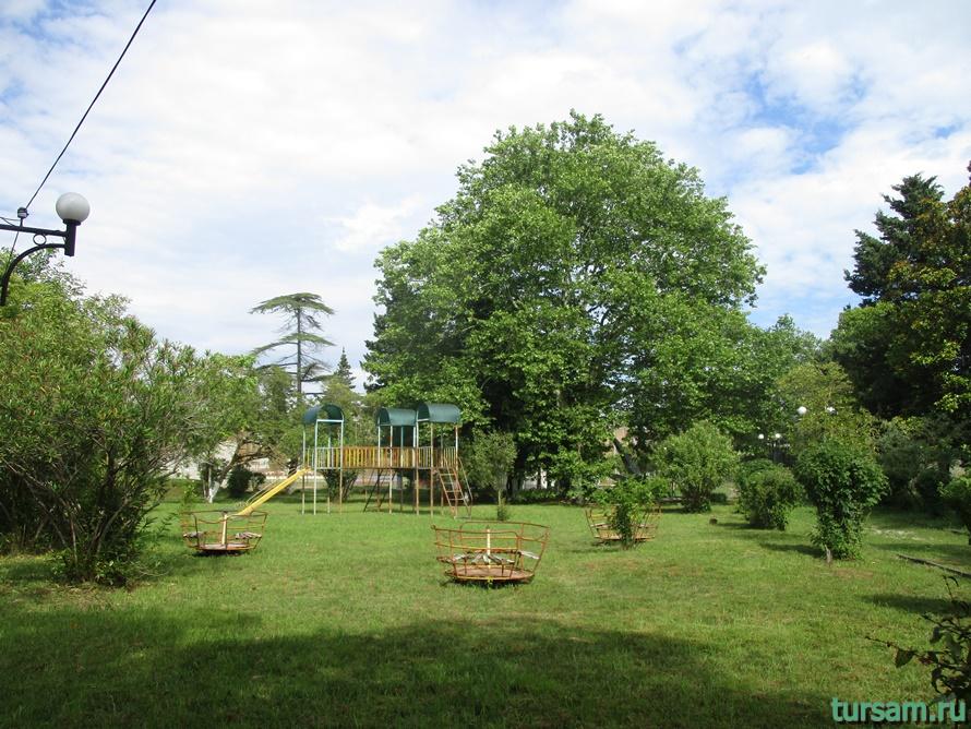 Парк Гуда и Ута в Абхазии-6