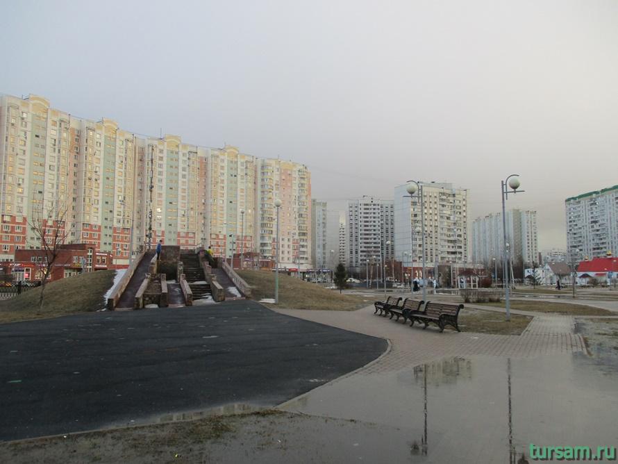 Парк имени Артема Боровика в Москве-12
