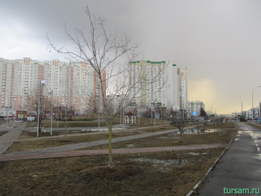 Парк имени Артема Боровика в Москве-3