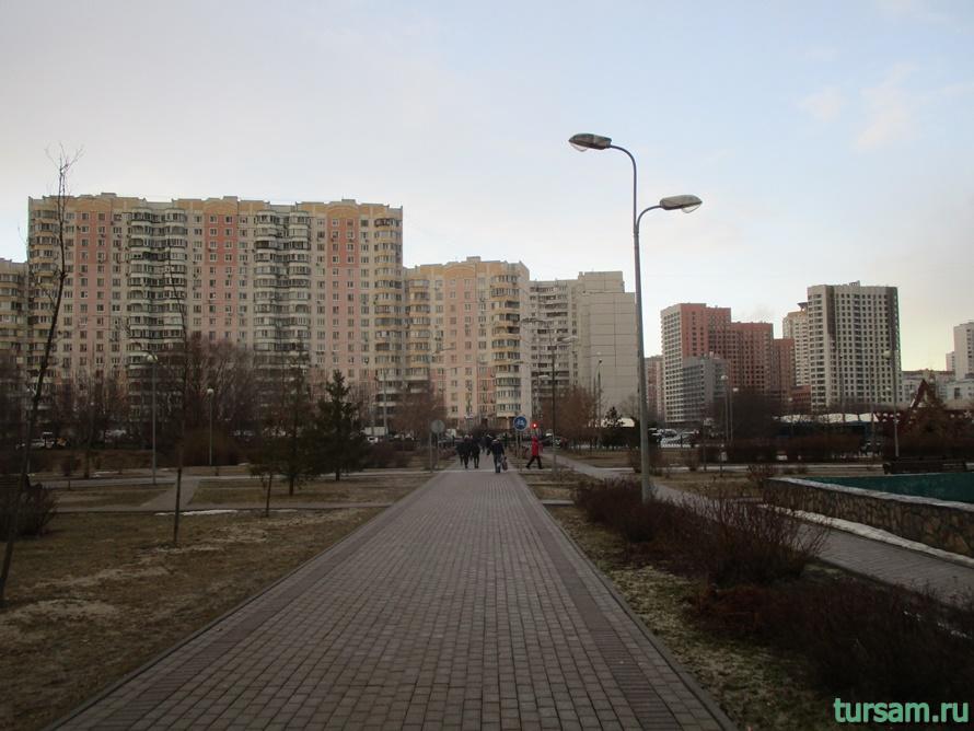 Парк имени Артема Боровика в Москве-9