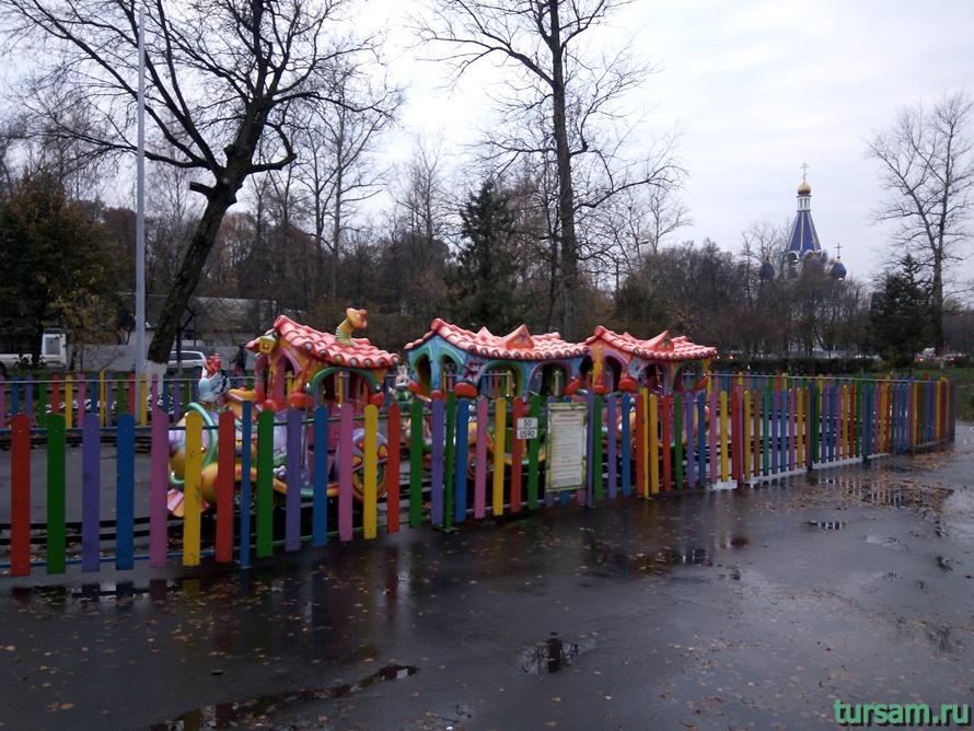 Парк Костино в Королеве-12