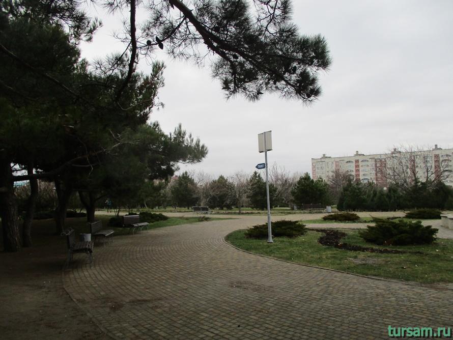 Парк Ореховая роща в Анапе-10