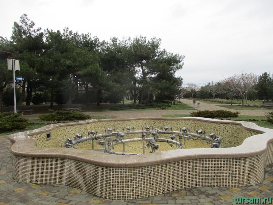 Парк Ореховая роща в Анапе-11