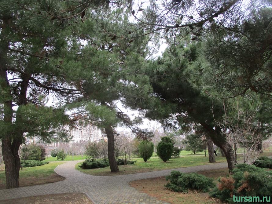 Парк Ореховая роща в Анапе-5