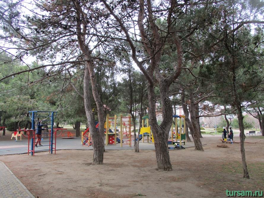Парк Ореховая роща в Анапе-6