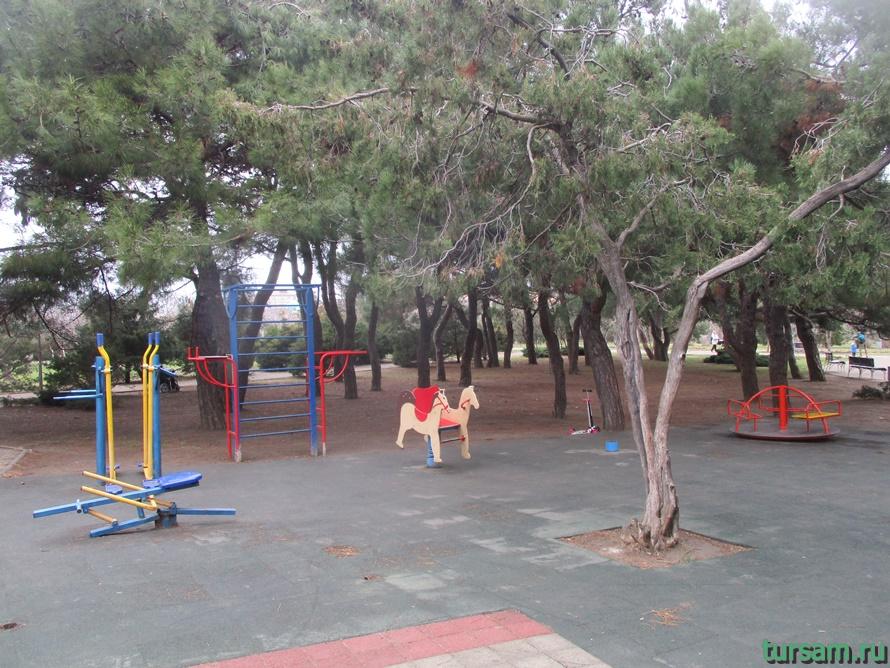 Парк Ореховая роща в Анапе-7