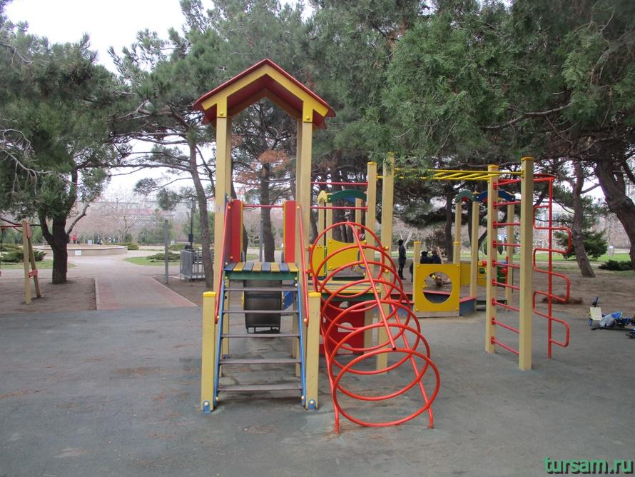 Парк Ореховая роща в Анапе-8