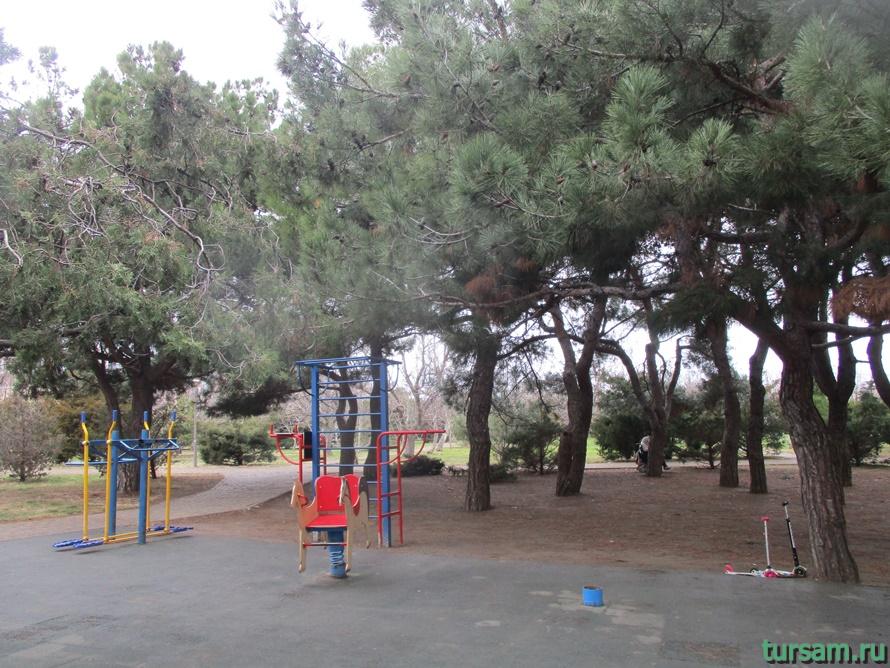 Парк Ореховая роща в Анапе-9