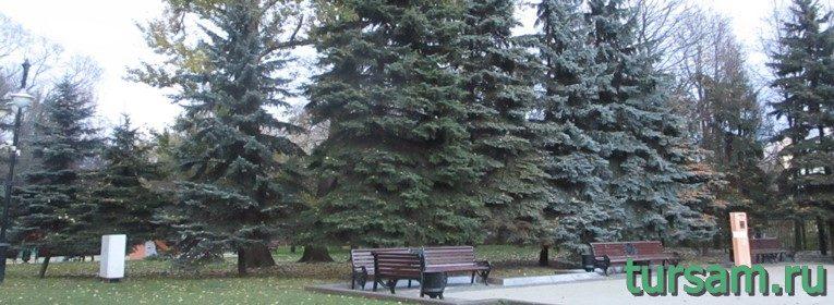 Парк Останкино в Москве