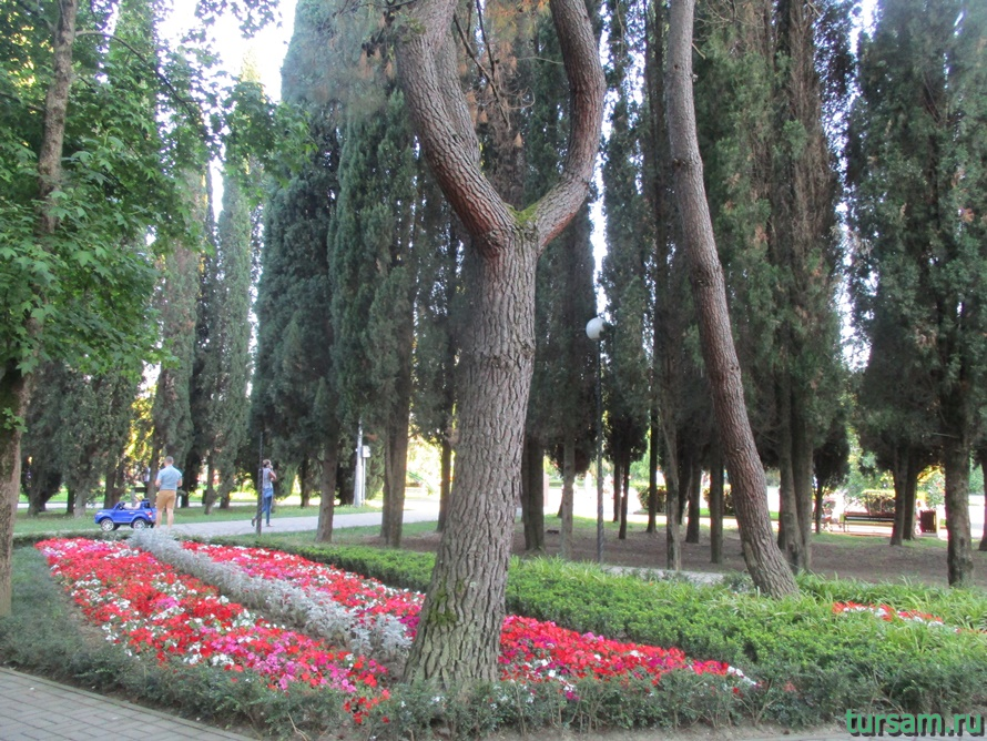 Парк Победы в Адлере-5