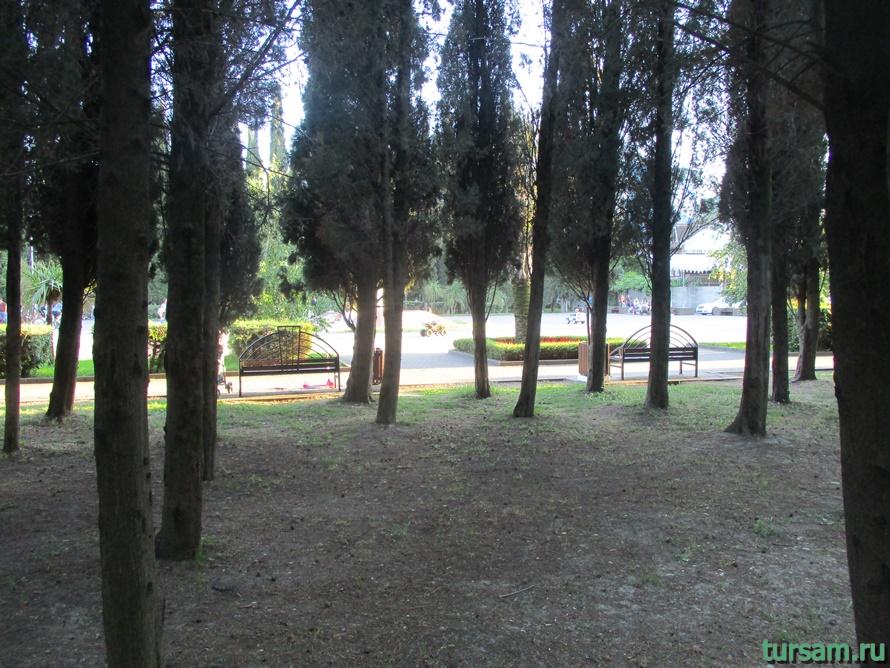 Парк Победы в Адлере-8