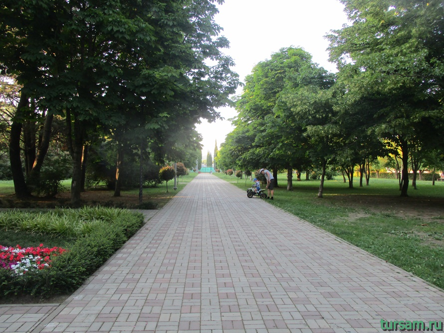 Парк Победы в Адлере-9