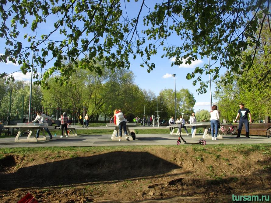 Парк Садовники-20