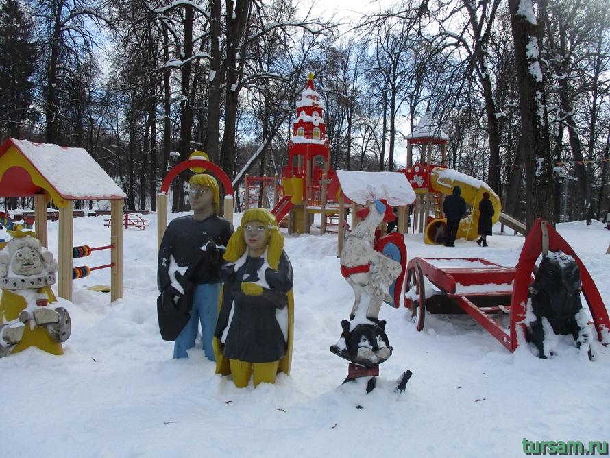 Парк Скитские пруды в Сергиевом Посаде-12