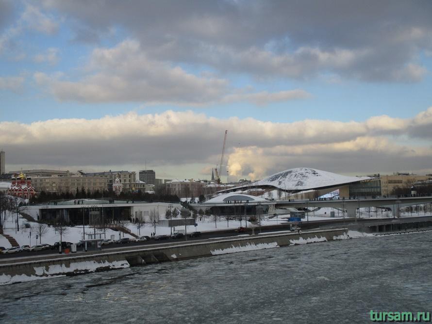 Парк Зарядье в Москве-1