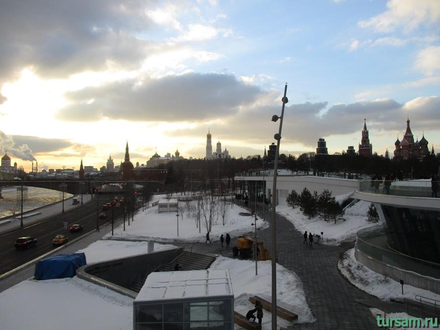Парк Зарядье в Москве-11