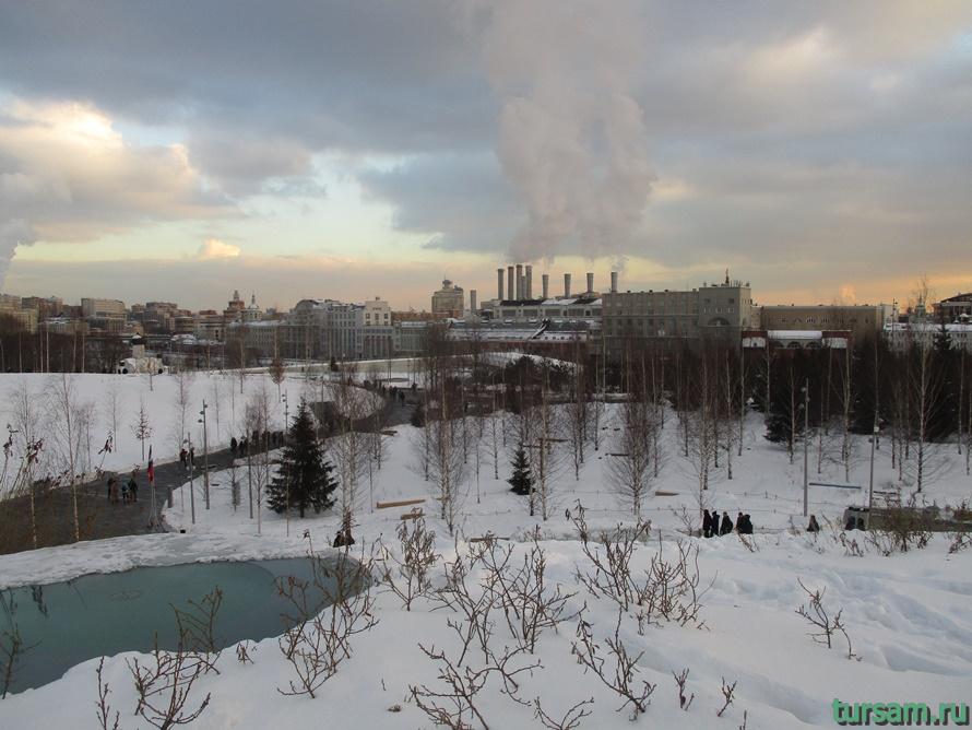 Парк Зарядье в Москве-14