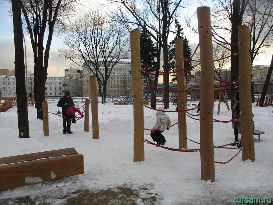 Парк Зарядье в Москве-2