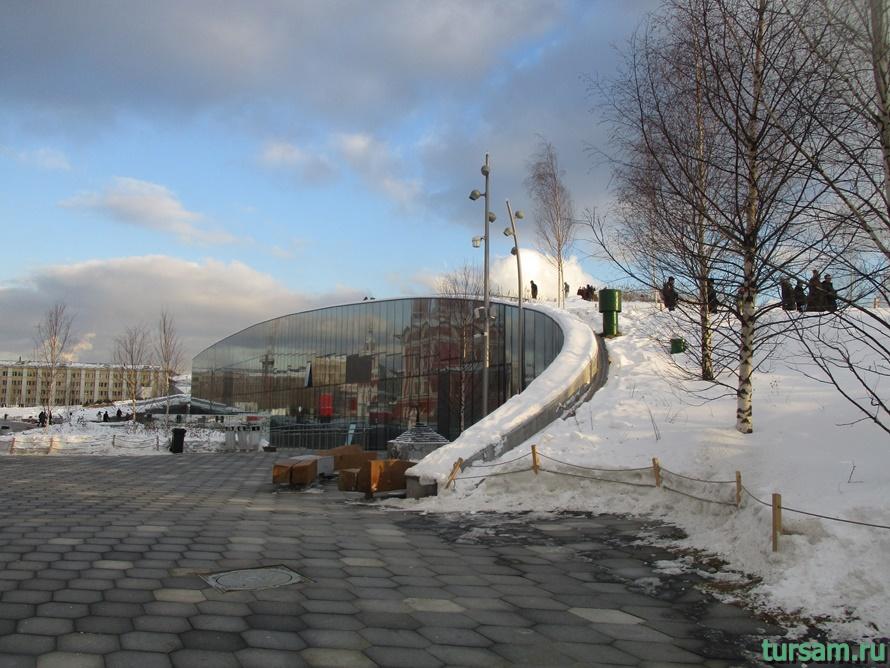 Парк Зарядье в Москве-9