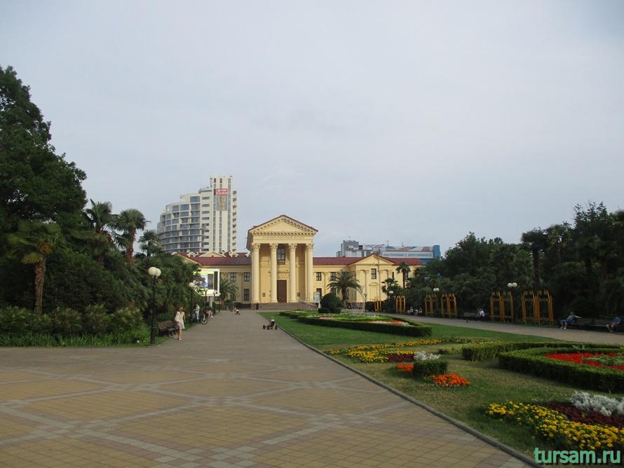 Площадь искусств в Сочи-1